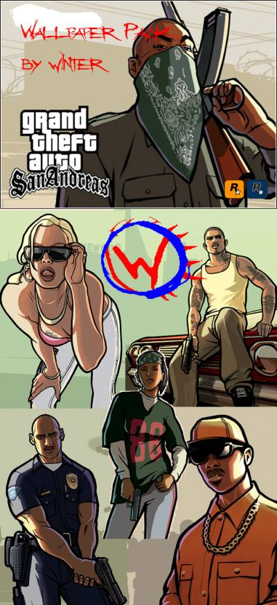 San Andreas Wallpaper Pack