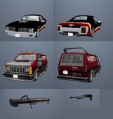 Car & Weapon Pack