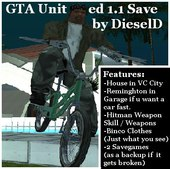 GTA United 1.1 Savegame