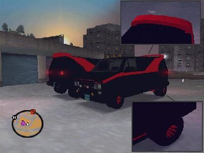 GTA 3 A Team Van Mod