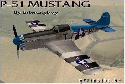 Real WWII P-51 Mustang
