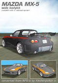 Mazda MX-5 Wide bodykit