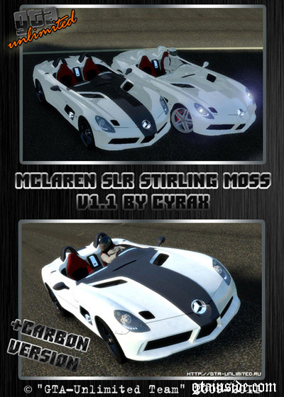 McLaren Mercedes-Benz SLR Stirling Moss v.1.1