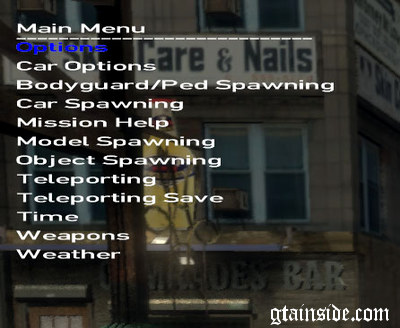 GTA IV | EFLC Simple Native Trainer v6.3