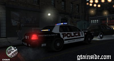 Gta 4 Ford Crown Victoria Police Interceptor Mod Gtainside Com
