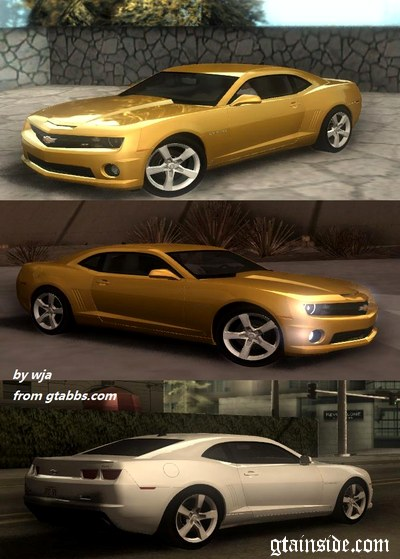 gta san andreas 2010 chevrolet camaro ss mod. Black Bedroom Furniture Sets. Home Design Ideas
