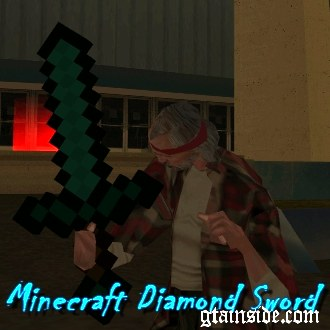 Minecraft Diamand Sword