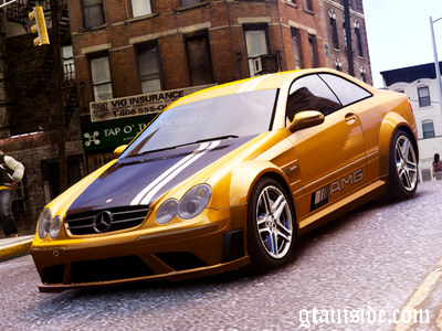 2007 Mercedes Benz CLK63 AMG Black Series
