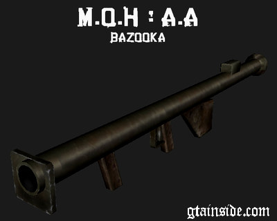 Medal Of Honor: AA Bazooka