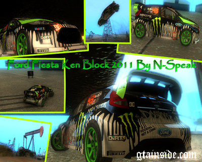 Ford Fiesta Ken Block 2011
