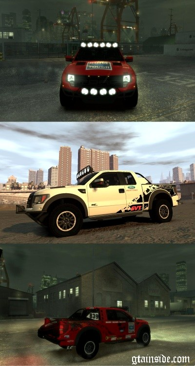 2011 Ford Racing Raptor XT
