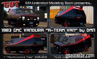 GTA 4 1983 GMC Vandura A Team Van Mod