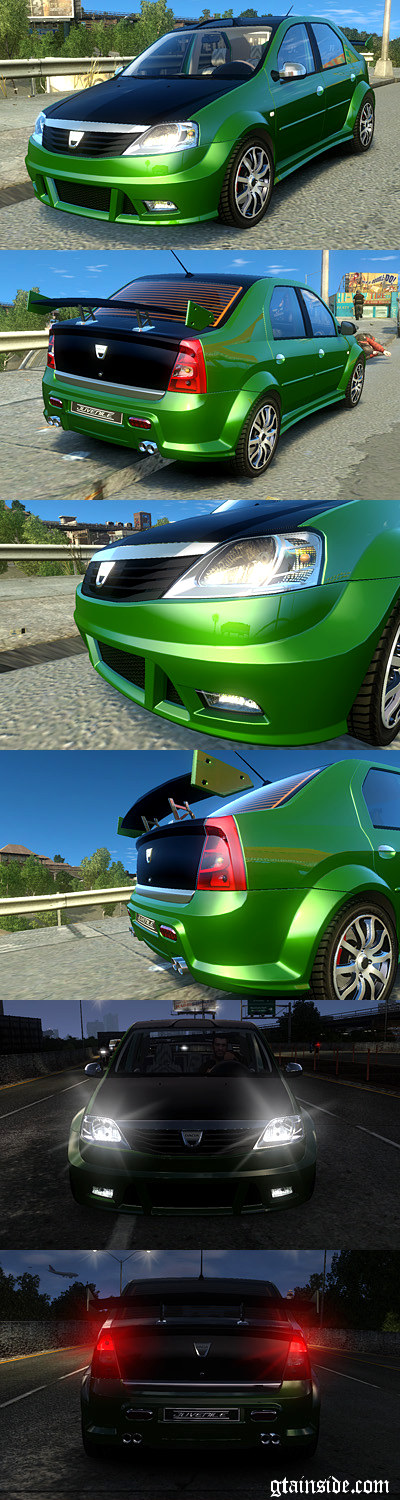 Dacia Logan 2008 Tuned