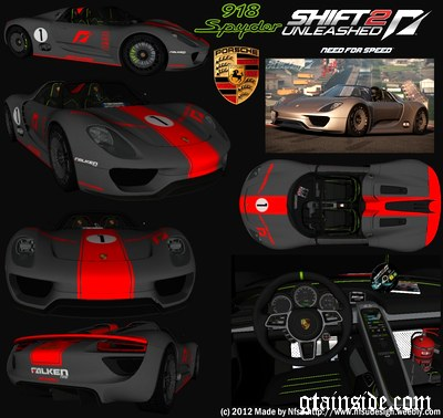 gta san andreas porsche 918 spyder concept study mod. Black Bedroom Furniture Sets. Home Design Ideas