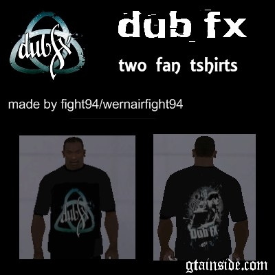 Dub Fx Two Fan T-Shirts