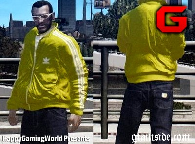 Adidas Sport Jacket Yellow