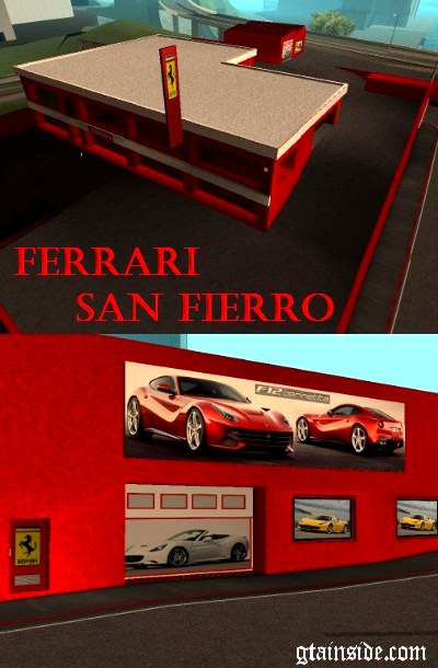 Ferrari in San Fierro