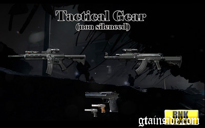 Tactical Gear (non silenced version)