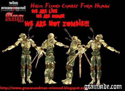 Flood Combat Form Human