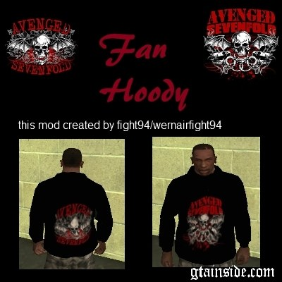 Avenged Sevenfold Fan Hoody