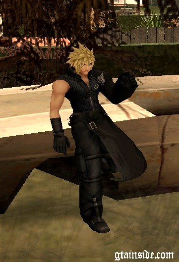 Cloud Strife Skin