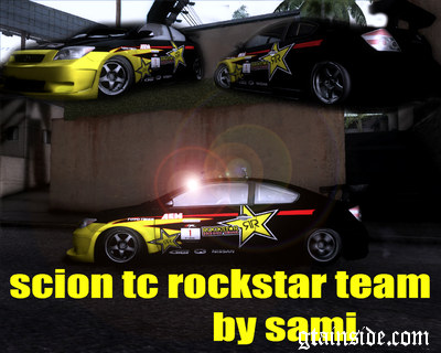 Scion TC Rockstar Team Drift