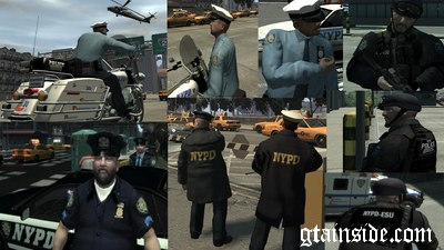 Ultimate NYPD and NY Uniforms Mod v2.0