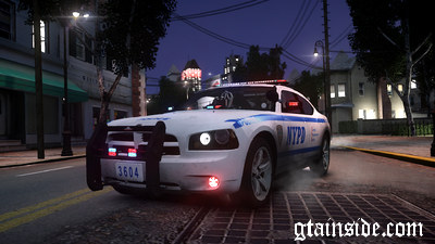NYPD 2010 Dodge Charger