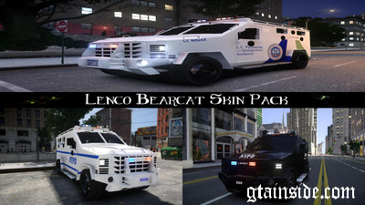 Lenco Bearcat Skin Pack [ELS]