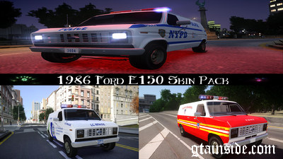 1986 Ford E150 Skin Pack [NoN-ELS]