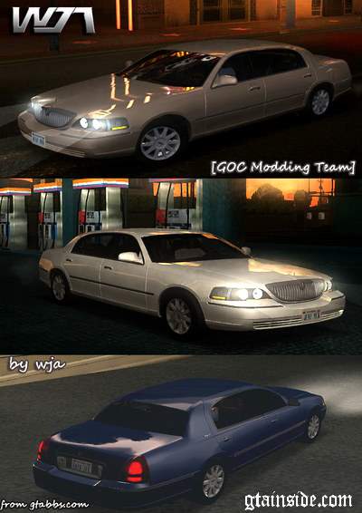 Gta San Andreas 2010 Lincoln Towncar Mod Gtainside Com