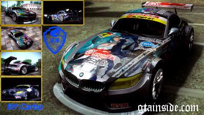 GTA San Andreas 2010 BMW Z4 E89 GT3 V1.0 Mod - GTAinside.com