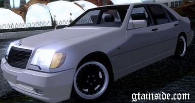 GTA San Andreas 1993 Mercedes-Benz 600SEL AMG (V140) Mod