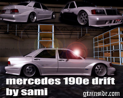 Mercedes Benz 190e Drift