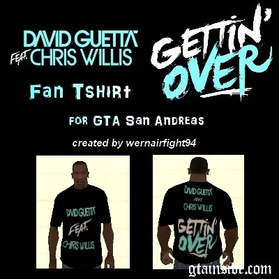 David Guetta Gettin Over T-Shirt