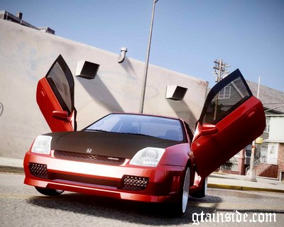 Honda Prelude SiR VERTICAL Lambo Door Kit Carbon