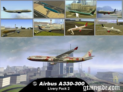 Airbus A330-300 Livery Pack 2