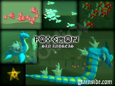 Underwater Pokemon