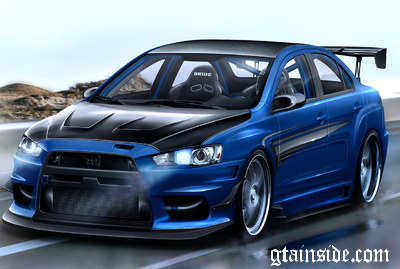 Mitsubishi Lancer EvoX Sound v2 Final