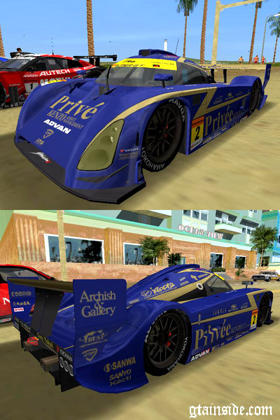 Bentley Privee KENZO Asset Shiden Super GT