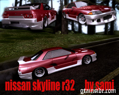 Nissan Skyline R32 Drift Tuning