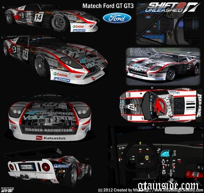 Matech Ford GT GT3 Series