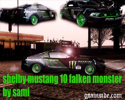 Shelby Mustang 10 Monster