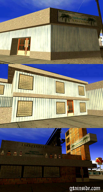 New Textures to Motel and Liquor in Idlewood