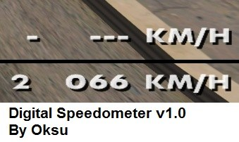 Digital Speedometer v1.0
