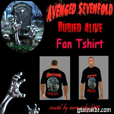A7X Buried Alive Fan T-Shirt v1