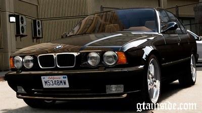 GTA 4 1995 BMW M5 (E34) v1.0 Mod - GTAinside.com