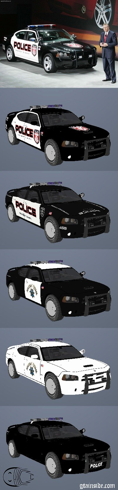 Paintjobs for Dodge Charger Police 2005