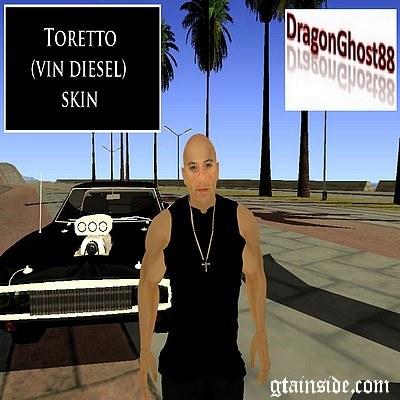 Gta San Andreas Toretto Fnf Skin Mod Gtainside Com