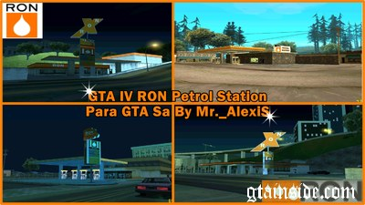 RON Petrol Station